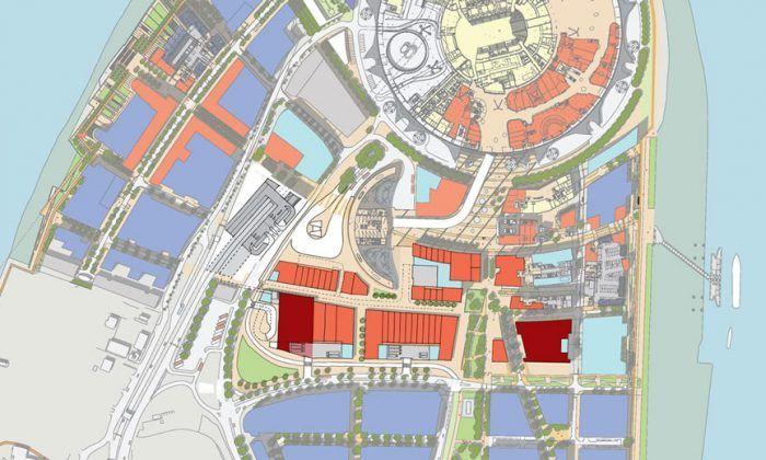 Greenwich Peninsula Masterplan