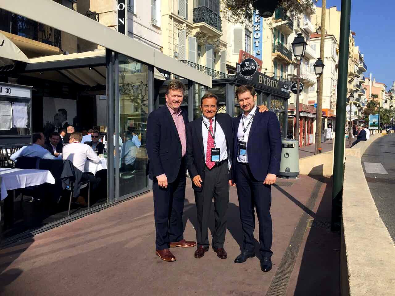 CEO of Urban Experts Vitaliy Boyko represented the Ukrainian real estate market at MIPIM, the largest international exhibition in Cannes