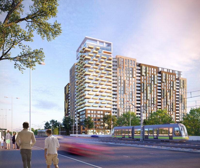 Создана архитектурная концепцию жилого микрорайона в Киеве
