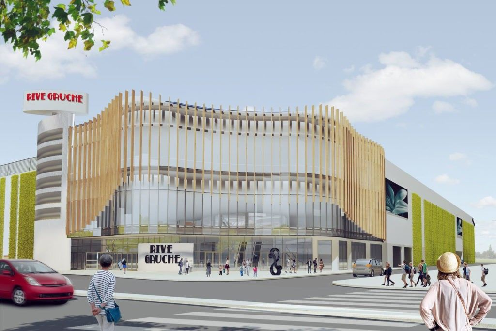 Urban Experts & Leslie Jones Architecture wins tender to create interior design for Rive Gauche shopping centre