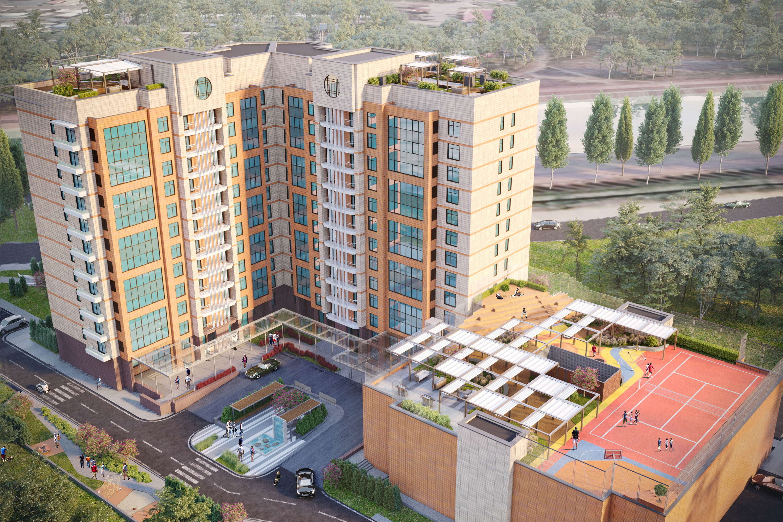 Housing Complex, Kazakhstan
