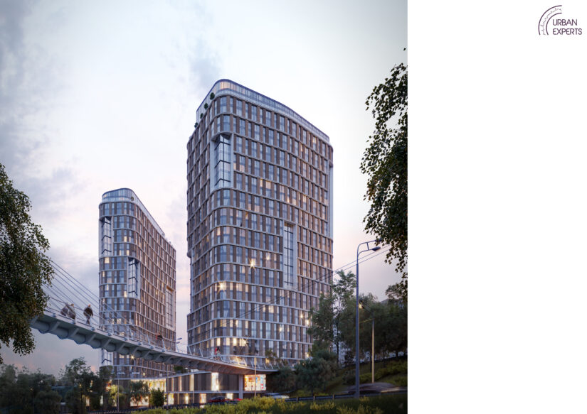 Архитектурная компания Urban Experts создала концепцию нового жилого массива бизнес-класса в Киеве