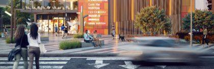 Торгово-развлекательный центр для жилого комплекса в Казахстане