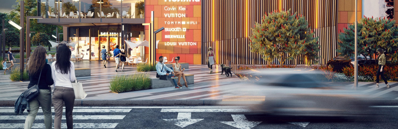 Архитектурная компания Urban Experts разработала проект торгово-развлекательного центра для жилого комплекса в Республике Казахстан