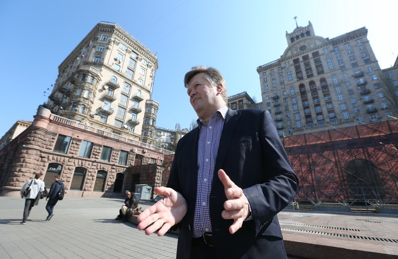 UK architect takes a walk with Kyiv Post
