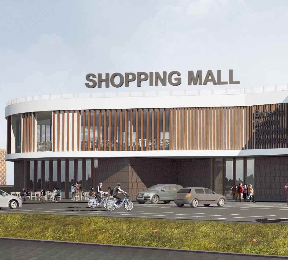 Компания Urban Experts создала архитектурную концепцию для транспортно-ориентированного торгового центра в Дарницком районе