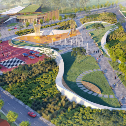 Ведущую архитектурную компанию Украины Urban Experts пригласили для реконцепции коттеджного поселка в Республике Казахстан