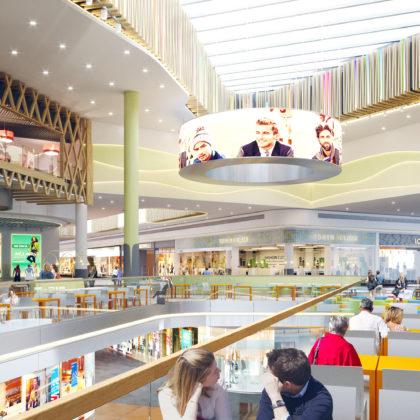 Shopping Center «Rive Gauche» II stage (interior)