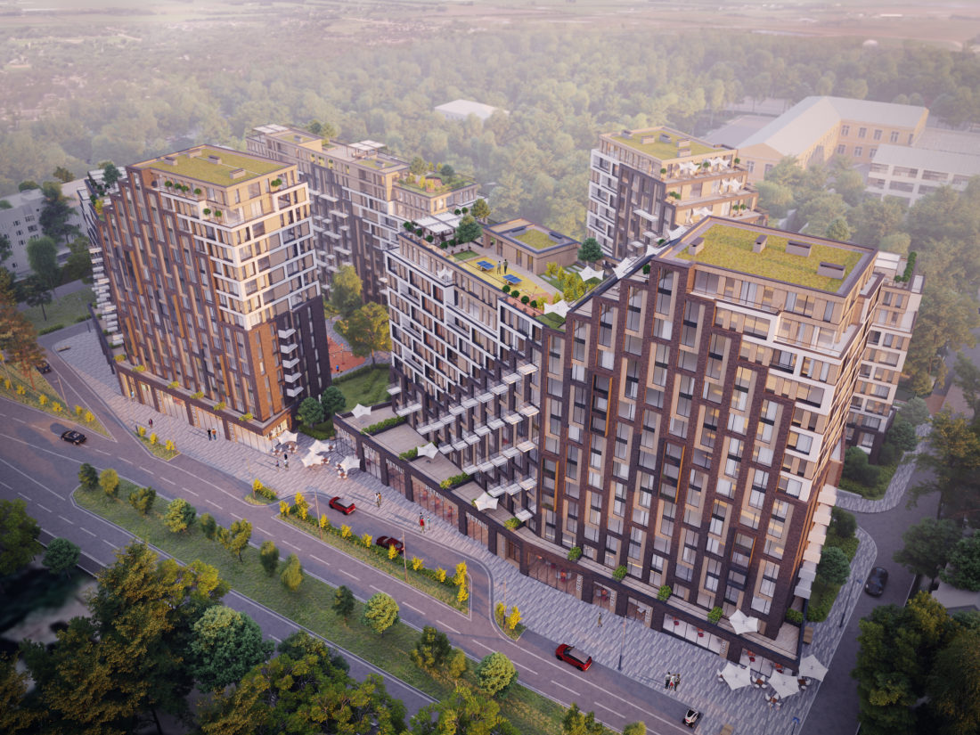 Многофункциональный жилой комплекс в Казахстане