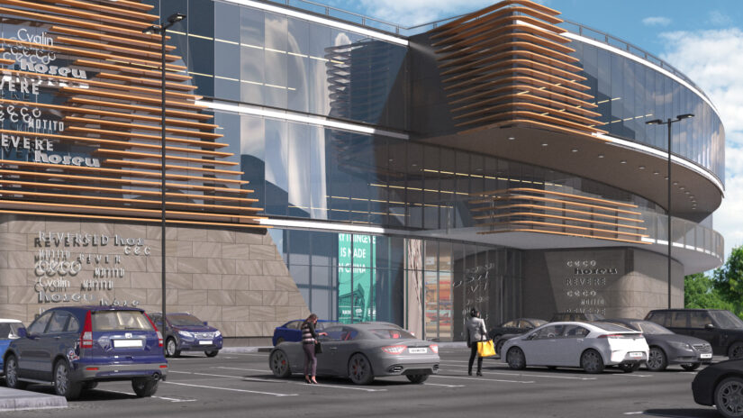 Urban Experts and NAI Ukraine have developed a concept for a shopping center in Troieshchyna