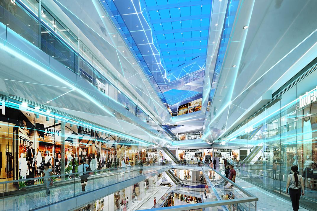 Інтер'єр Ocean Mall: що всередині айсбергу?