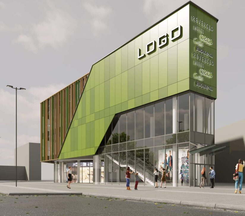Urban Experts designed a new shopping center in the Darnytskyi district of Kiev